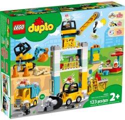 LEGO DUPLO TOWN STAVBA S VEZOVYM ZERIAVOM /10933/ + internetová televízia SledovanieTV na dva mesiace v hodnote 11,98 €