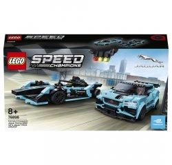 LEGO SPEED CHAMPIONS FORMULA E PANASONIC JAGUAR RACING GEN2 CAR & JAGUAR I-PACE ETROPHY /76898/