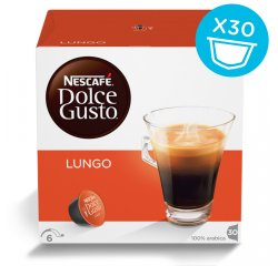 NESCAFE DOLCE GUSTO LUNGO MAGNUM PACK 30KS