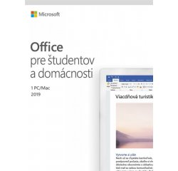MICROSOFT OFFICE HOME AND STUDENT 2019 SK