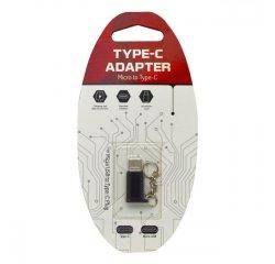 MOBILNET DAD-0042-UNI-TYPEC ADAPTER MICRO USB NA USB TYPE C CIERNY