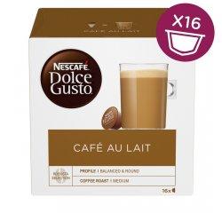 NESCAFE DOLCE GUSTO CAFE AU LAIT 16KS VYHRAJTE ZÁSOBU KÁVY NA CELÝ ROK