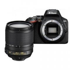 NIKON D3500 + AF-S DX 18-105MM F/3.5-5.6G ED VR CIERNY