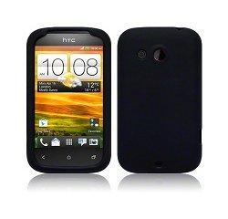OCHRANNY KRYT + FOLIA PRE HTC DESIRE C DEEP BLACK