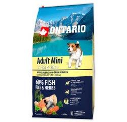 ONTARIO DOG ADULT MINI FISH & RICE(6,5KG)