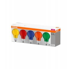 OSRAM LED STAR CL A COLOR BOX 15 NON-DIM 1,6W/827 E27