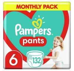 PAMPERS PANTS S6 132KS, 15+ KG