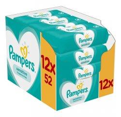 PAMPERS WIPES BOX 624KS (12X52) SENSITIVE
