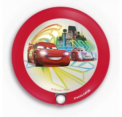 PHILIPS 71765/32/16 DISNEY CARS CERVENA