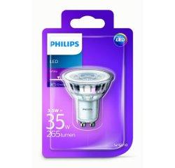PHILIPS LED CLASSIC 3,5W/35W GU10 WH 36D ND BODOVA, 562680