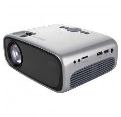 PHILIPS NEOPIX EASY+ NPX445, VRECKOVY PROJEKTOR, LED, 2600 LED LUMENOV, WVGA, WIFI, BLUETOOTH, REPRO