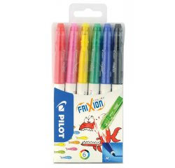 PILOT FRIXION COLORS , SADA 6 KS