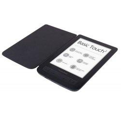 POCKETBOOK 625 BASIC TOUCH 2 , S PUZDROM, CIERNY vystavený kus