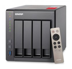 QNAP TS-451+ TURBO NAS SERVER, 2,4 GHZ QC/2GB/4XHDD/2XGL/HDMI/USB 3.0/R0,1,5,6/ISCSI/DO UMNP00363