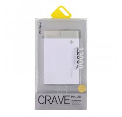 REMAX PPL-20 CRAVE POWERBANK 12.000MAH SILVER, AA-711