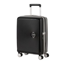 SAMSONITE AMERICAN TOURISTER 32G29001 SOUNDBOX SPINNER 55/20 TSA EXP BLACK/WHITE
