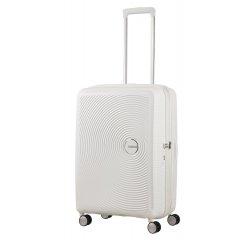 SAMSONITE AMERICAN TOURISTER SPINNER 32G05002 SOUNDBOX -67/24 TSA EXP JUST LUGGAGE, PURE WHITE