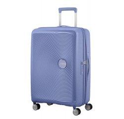 SAMSONITE AMERICAN TOURISTER SPINNER 32G11002 SOUNDBOX -67/24 TSA EXP JUST LUGGAGE, DENIM BLUE