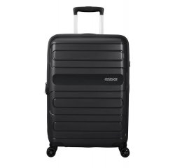 SAMSONITE AMERICAN TOURISTER SPINNER 51G09002 SUNSIDE-68/28,5, TSA, EXP, JUST LUGGAGE, BLACK