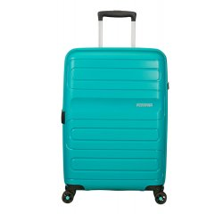 SAMSONITE AMERICAN TOURISTER SPINNER 51G21002 SUNSIDE-68/28,5, EXP, JUST LUGGAGE, AERO TURQUOIS