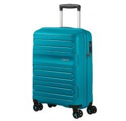 SAMSONITE AMERICAN TOURISTER SPINNER 51G51001 SUNSIDE-55/20 TSA JUST LUGGAGE, TEAL, 51G-51-001