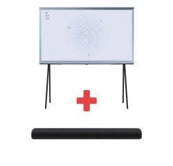SAMSUNG QE55LS01TBUXXH + HW-S60T/EN + internetová televízia SledovanieTV na dva mesiace v hodnote 11,98 €