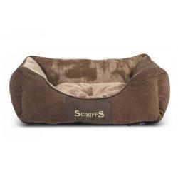 SCRUFFS CHESTER BOX BED COKOLADOVY S 50X40CM (974-01170)