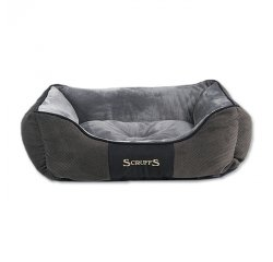SCRUFFS CHESTER BOX BED SIVY M 60X50CM (974-01176)