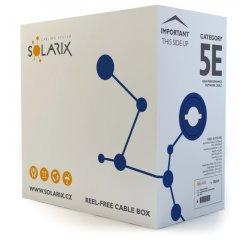 SOLARIX KABEL FTP CAT5E PVC DROT, SXKD-5E-FTP-PVC