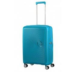 SPINNER AMERICAN TOURISTER 32G01002 SOUNDBOX-67/24 TSA EXP JUST LUGGAGE, SUMMER BLUE, 32G-01-002