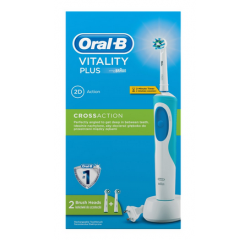 BRAUN ORAL-B VITALITY PLUS CROSS ACTION + 1 KEFKA NAVIAC