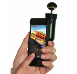 BUBBLESCOPE 360 FOR IPHONE 4/4S/5/5S BLACK OBJEKTIV
