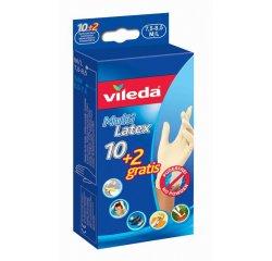 VILEDA RUKAVICE MULTI LATEX 10+2 M/L JEDNORAZOVE 145965