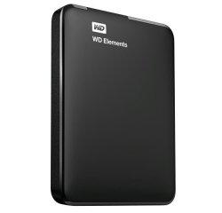 WD ELEMENTS PORTABLE 750GB EXT. 2.5 USB 3.0, BLACK WDBUZG7500ABK-WESN