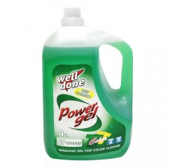 WELL DONE POWER GEL COLOR 4 L
