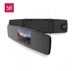 XIAOMI YI MIRROR DASH KAMERA vystavený kus + internetová televízia SledovanieTV na dva mesiace v hodnote 11,98 €