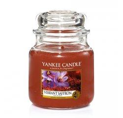 YANKEE CANDLE 1556232 SVIECKA VIBRANT SAFFRON/STREDNA