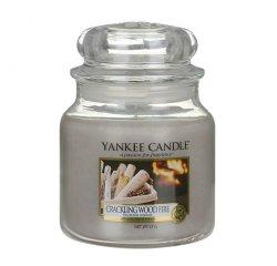 YANKEE CANDLE 1556293E SVIECKA CRACKLING WOOD FIRE/STREDNA