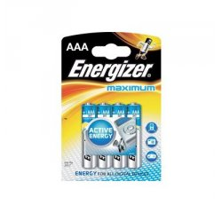 ENERGIZER ULTIMATE MAXIMUM AAA LR03, 4KS BLISTER