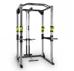 CAPITAL SPORTS TREMENDOUR PL POWER RACK, ZELENY, DOMACA POSILNOVNA, KLADKA, OCEL, 10028833