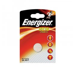 ENERGIZER CR2016, 1KS BLISTER