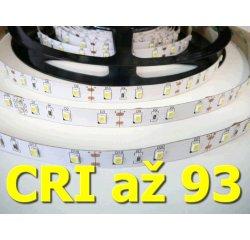 LED pásik TLE SMD 2835 60LED/m, 5m, teplá bílá, IP20, 12V,  CRI 90