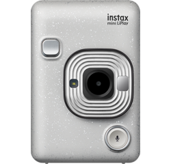 Fotoaparát Fujifilm Instax MINI LIPLAY Stone white EX D