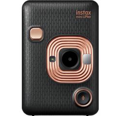 Fotoaparát Fujifilm Instax MINI LIPLAY Elegant black EX D