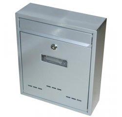 Schránka poštovná RADIM malá 310 x 260 x 90 mm šedá