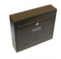 Schránka poštovná RADIM veľká 310 x 360 x 90 mm hnedá