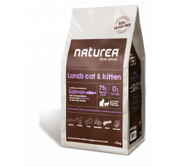 Naturea Lands Cat & Kitten, 2kg