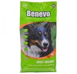 Krmivo pre psov, Benevo Adult Organic, 15kg + internetová televízia SledovanieTV na dva mesiace v hodnote 11,98 €