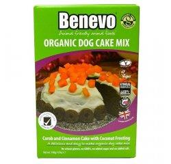 Koláč pre psy, Benevo Organic Dog Cake Mix, 140g