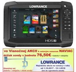 Dotykový sonar LOWRANCE HDS -7 Carbon sonar + sonda TotalScan